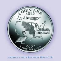 Louisiana State Quarter - Portrait Coin 18