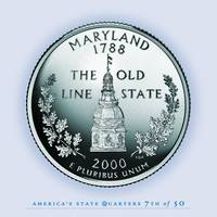 Maryland State Quarter - Portrait Coin 07