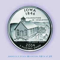 Iowa State Quarter - Portrait Coin 29