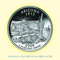 Arizona State Quarter - Portrait Coin 48