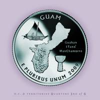 Guam Quarter - Portrait Coin 53