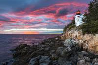 Bass Harbour Lighthouse in Maine by Cody York