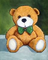 Teddy Bear, Still Life, Nursery Decor