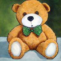 Teddy Bear, Still Life, Nursery Decor Art Prints & Posters by Joyce Geleynse