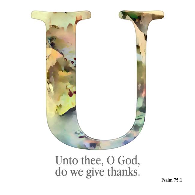 U, the Christian Alphabet