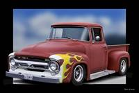 1956 Ford F100 Stepside Pickup II