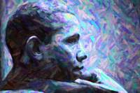 Abstract Profile of President Barack Obama 5.