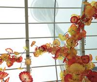 Seattle Space Needle meets Chihuly Glass