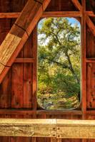 Covered Bridge Window