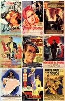 Vintage French Cinema Movie Posters