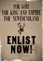Enlistment Newfoundland WWI