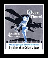 Over There!  Air Service Recruitment Poster