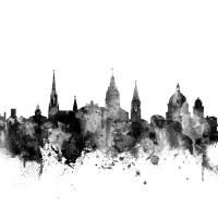 """Annapolis Maryland Skyline"" by ModernArtPrints"