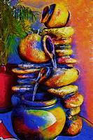 The Fountain Of Pots by Kirt Tisdale