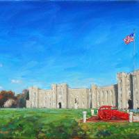 Virginia Military Institute Barracks Panoramic Art Prints & Posters by Amy Donahue