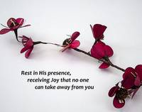 Rest In His Presence