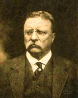 Theodore Roosevelt Abstract Portrait