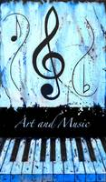 Art and Music Blue