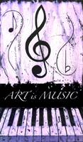ART is MUSIC Purple