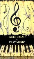 KEEP CALM AND PLAY MUSIC Yellow