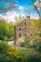 Stone Mill in Spring
