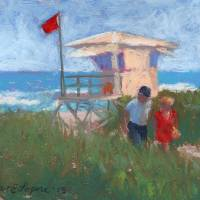 Red Flag Art Prints & Posters by Doreen Lepore