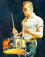 Larry Mullen Jr Drumming