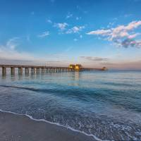 """Naples City Pier after Sunrise"" by cdomenig"