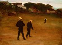 WILLIAM MORRIS HUNT The Ball Players 1871