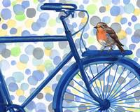 Birds And Bikes Collection I for Baby Room