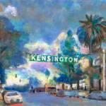 Kensington Sign and Park San Diego by RD Riccoboni