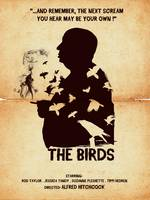 Alternative hitchcock the birds movie poster