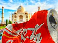 Coca-Cola Can Trash Oh Yeah - And The Taj Mahal
