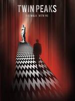 Alternative twin peaks art poster