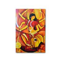 Abstract Durga Painting