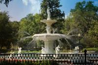 Charming Savannah Fountain by Carol Groenen