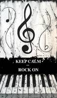 KEEP CALM AND ROCK ON - Music In Motion