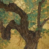 flicker trunk on goldleaf lg by r christopher vest
