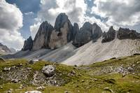 Three heights of Lavaredo