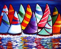 Flock of Sailboats
