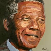 Nelson Mandela Art Prints & Posters by Brett Hudson