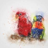 parrot-2274097 XL by ArtLoversOnline