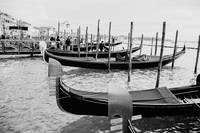 Gondolas waiting for customers