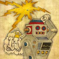 Robot Rock Art Prints & Posters by Luther Brown