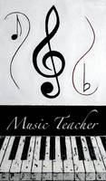 Music Teacher - Black Notes