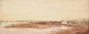 William Havell (1782-1857)  A view of Bombay