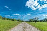 Beutiful Countryside With Path And Amazing Skies