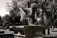 Old Savannah Urn #2_B&W