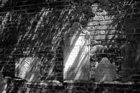 Headstones on the Wall #3_B&W