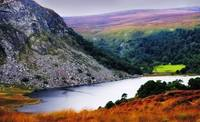 On The Shore Of Lough Tay. Wicklow. Ireland